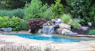 Waterfall Landscape Design Swimming Pools Archives Landscape Design Home  Improvement Pool Waterfall Landscape Design