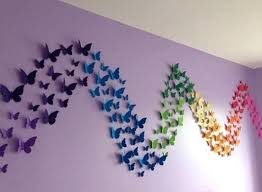 erfly wall decoration ideas paper erfly wall decor ideas wall decoration ideas with paper erfly