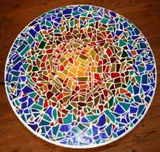 mosaic tile designs. I Have Made Several Mosaic Tabletops. They Are So Easy And Fun. The More Vibrant Tiles Prettier. | Crafts DIY Projects Pinterest Mosaics, Tile Designs Y