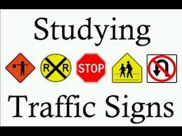 Learn Traffic Signs Symbols Studying Teach Free Rules Of The Road Dmv Us Meanings Learning Lesson