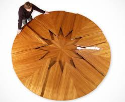 the round expanding table to end all tables pertaining expandable ideas 2