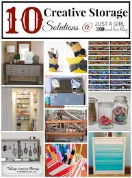 Creative Storage 10 Creative Storage Solutions Just A Girl And Her Blog