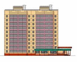 Скачать бесплатно дипломный проект ПГС Диплом №  Диплом №2078 Проектирование и строительство 2 х подъездного 10 ти этажного со встроено пристроенным магазином в г Кемерово