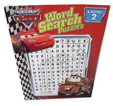 Word Cars Disney Cars Word Search Puzzlewarehouse Com