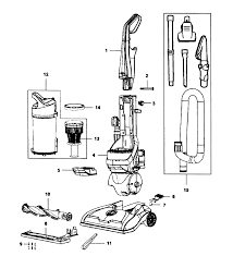 hoover model uh71230 vacuum upright genuine parts vh180 hoist parts diagram vacuum vacuum parts diagram