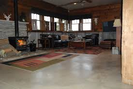 concrete floor home. Concrete Floor In Home Eclectic-living-room D