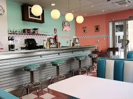 Retro Style Kitchen Accessories 1950s Decor 1950s Style American Diner In Valencia Spain L
