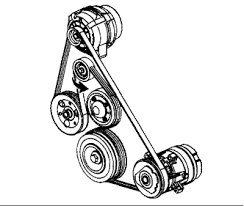 solved need fan belt diagram for pontiac grand prix fixya 1 answer