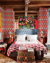 bohemian bedroom home furniture luxurious boho. Interior: Artistic Boho Design Applied For Traditional Bedroom Equipped With Tufted Headboard And Unique Designed Bohemian Home Furniture Luxurious C