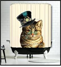 steampunk shower curtain steampunk cat shower curtain kitty cat shower curtain steampunk mermaid shower curtain