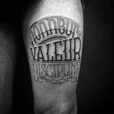 60 Typografie Tetování Pro Muže Word Návrh Písma Inkoustové Nápady