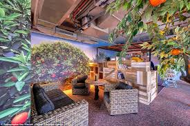 Google office tel aviv 21 Aviv Israel Branching Out Googles Tel Aviv Office Comes Complete With An Indoor Orange Grove Design Aesthetic Pinterest Inside The Worlds Most Futuristic Offices Daily Mail Online