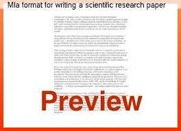 mla scientific paper mla format for writing a scientific research paper research paper