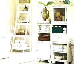 storage tower with baskets bathroom linen cabinet wall mounted inch wooden