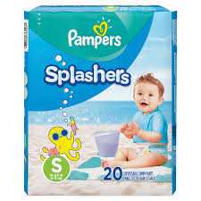 Pampers Splashers Swim Diapers Choose Size And Count Walmart Com