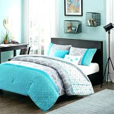 grey turquoise bedding teal