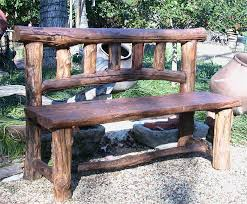 rustic wooden outdoor furniture. Delighful Wooden Innovative Rustic Wood Outdoor Furniture Benches Intended Wooden O