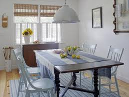 dining room furniture beach house. Coastal Beach Cottage Dining Room With Blue And White Stripe Rug Furniture House R
