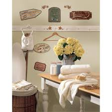 Peel And Stick Wall Decor Roommates Country Signs Peel And Stick Wall Decals Walmartcom