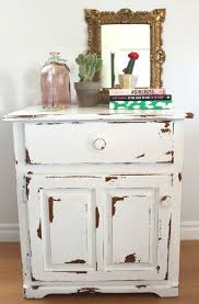 Furniture Enticing Small White Distressed Side Table Furniture