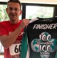 Ivan Lyons ran 100 marathons in 100 weeks | The Argus