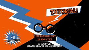Tfd Live Word Tutorial Apa Style Citations And Bibliography English
