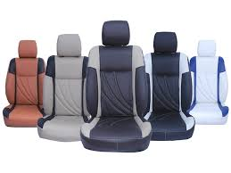 picture of custom fit leatherette 3d car seat covers for volkswagen ameo pl
