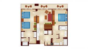 walk from kidani village to jambo house disneys beach club villas renovated two bedroom villa floor