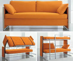 Doc transforms from sofa to bunk beds with one swift motion | 6sqft