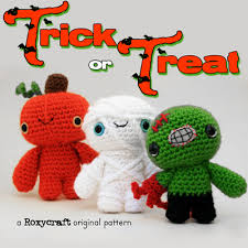 Halloween Crochet Patterns New Trick Or Treat Halloween Crochet Amigurumi Pattern Information Page