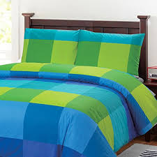 blue and green bedding. Simple And 100 Percent Cotton Fullqueen Duvet Cover Set Inside Blue And Green Bedding