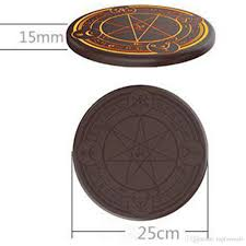 10w Magic Array Lighting Wireless Charger 2019 Universal 10w Magic Array Lighting Qi Wireless Charger Magic Circle Mobile Phone Charging Pad For Iphone Xr Xs Max Mate 20 Pro Find X Gift From