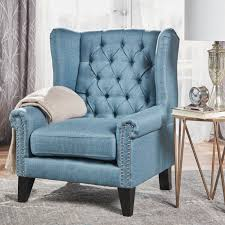 laird winged tufted studded fabric club chair by christopher knight home de8a4107 991a 4507 abbd 5cf6ad14ae0cs