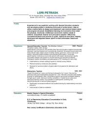 teacher resume template free ...