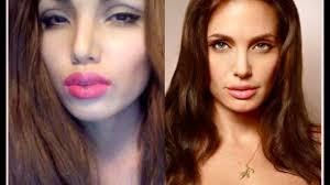 makeup tutorial angelina jolie make up transformation