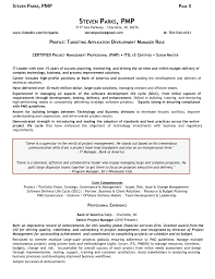 Resume Sample For It Manager Software Development New Transform ...