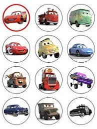 Cars Cupcake Toppers Printables Google Zoeken Benjis 3rd