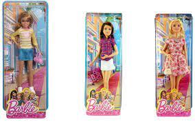 Bộ đồ chơi búp bê chị em Barbie Sisters Fun Day