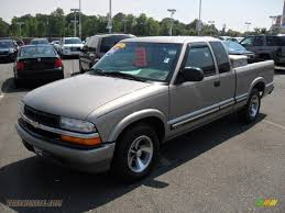 2001 Chevrolet S10 LS Extended Cab in Light Pewter Metallic ...
