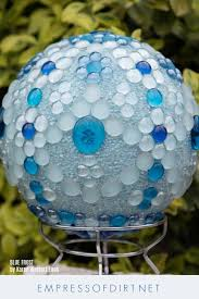 Decorating Bowling Balls Marbles Extraordinary Gazing Balls Made From Marbles And Bowling Balls Empress Of Dirt