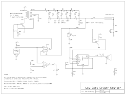 diy geiger counter i knew it when he said kidding this one looks easier and it s low cost and made w commonly available parts except the geiger mueller tube