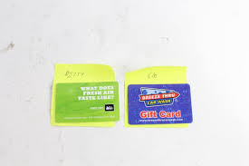 an image relevant to this listing rei and breeze thru car wash gift cards