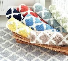roll over image to zoom pottery barn bath mat organic geometric jacquard rug anchor hello gorgeous