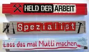 Zollstock Lustige Sprüche Geschenk Heimwerker Spezialist Helden