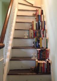 stairs-bookcase-side- | Attic | Pinterest | Attic and Interiors