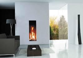 tall narrow electric fireplace