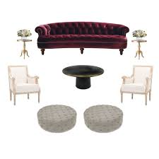 Rosa Luxe Sofa rental in New York – Two of a Kind Furniture Rentals
