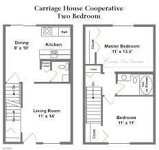 floor plans carriage house cooperative garage style small 1 story house plans carriage historic