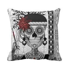 Skull Bedroom Decor Day Of The Dead Decor Its The New Halloween