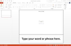 Flashcards Template For Word Making Flashcards In Powerpoint Tekhnologic